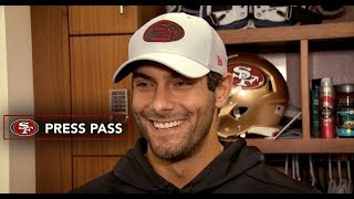 Jimmy Garoppolo's Goal is to 'Come Back Even Stronger'