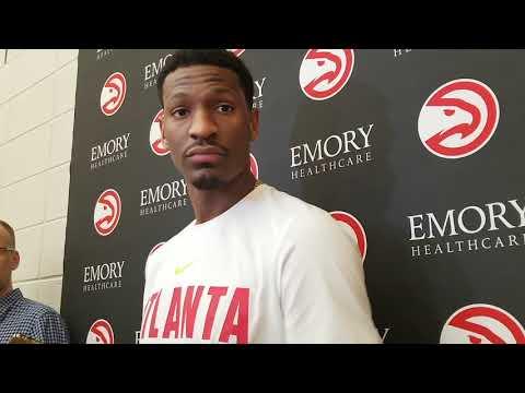 Atlanta Hawks End Of Season Media Availability For Andrew White III