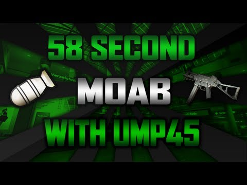 58 Second UMP.45 MOAB - In A Dream.