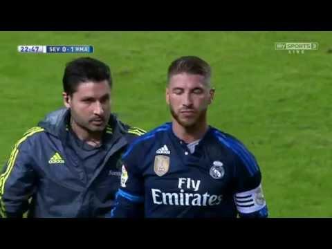 Sergio Ramos : Goal V.S. Sevilla HD
