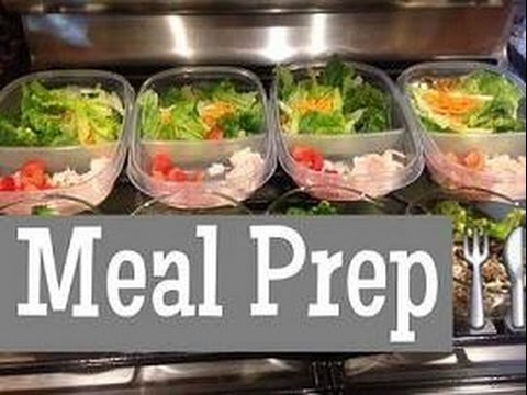 Meal Prep Salads Youtube