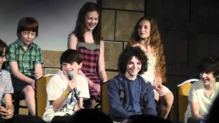 New Harry Potter Kid Actors at LeakyCon2011 Pt. 2