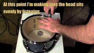 How I tune my Drums