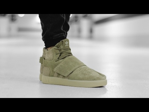 detailed look 7711c 15c4c adidas Tubular Invader Strap - YouTube