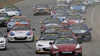 Mazda Global MX-5 Cup series 2016 Videos
