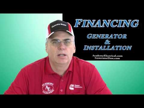 Financing Your Cummins Generator