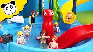 Playmobil Schwimmbad - Krankenwagen Einsatz im Aquapark - Playmobil Film