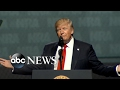 President Trump 'proud' to be 1st president to address the NRA in 34 years