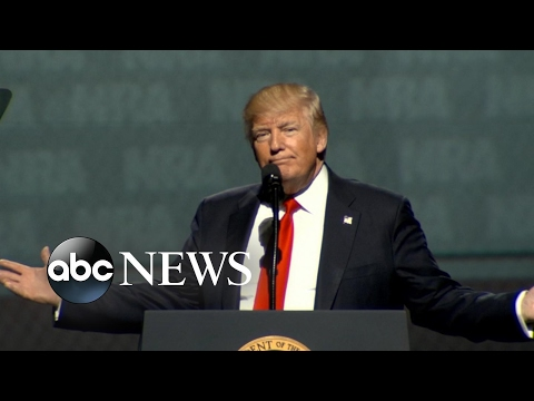 Thumbnail: President Trump 'proud' to be 1st president to address the NRA in 34 years