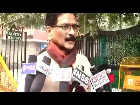 Marri Shashidhar Reddy at central Cheif Election Commission New Delhi