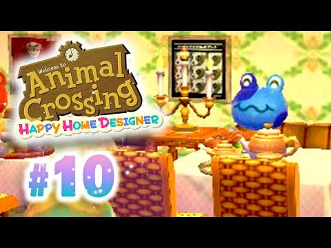 [Ep10] Animal Crossing Happy Home Designer: Un Restaurant de