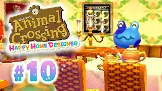 [Ep10] Animal Crossing Happy Home Designer: Un Restaurant de Luxe !