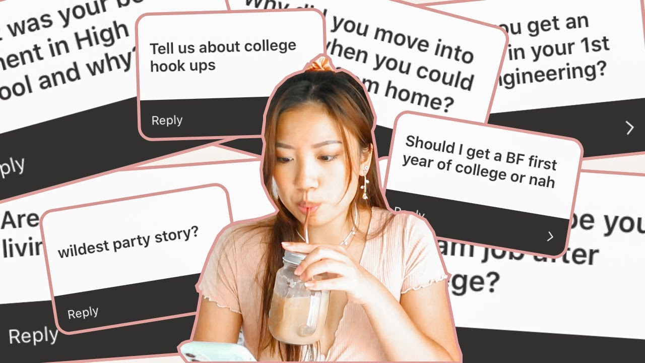 a THICC College Q+A (dating? majors?? online school??????)