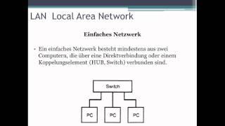 005 Netzwerk Grundlagen_LAN Local Area Network