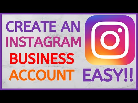 How To Create An Instagram Business Account | Full Page Setup Tutorial 2020