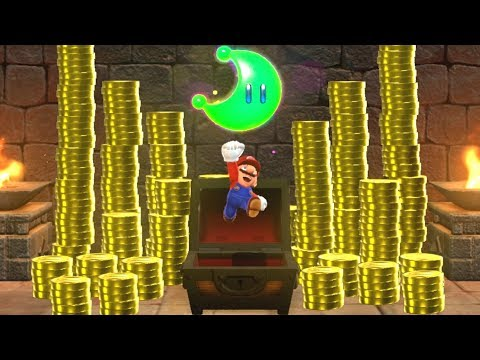 Super Mario Odyssey - All Treasure Chest Locations
