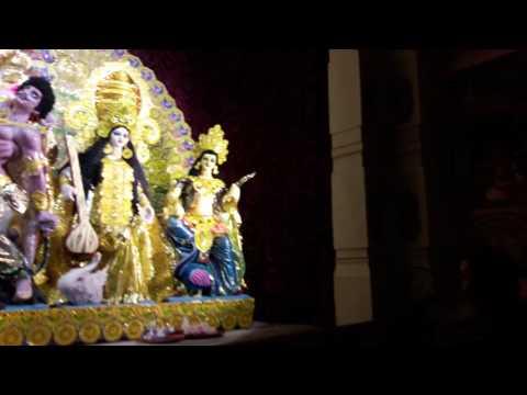 Barrackpore Hindi school Durga puja
