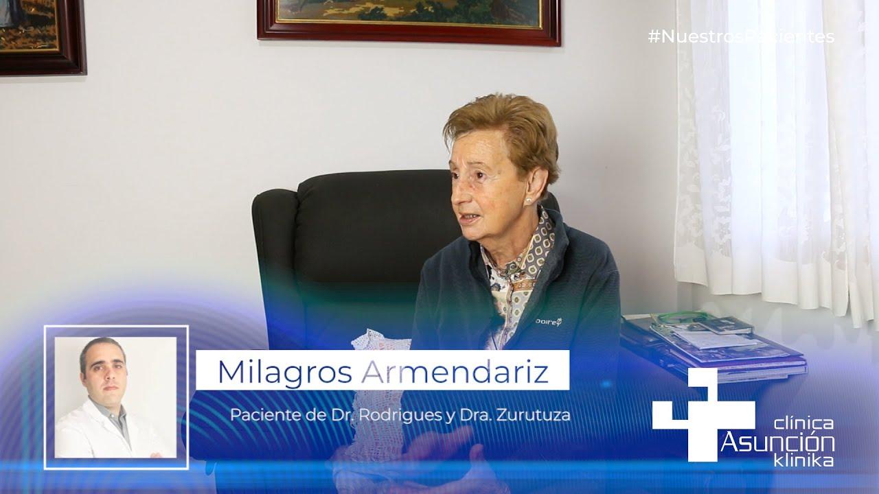 """Milagros Armendariz: """"Necesitamos esta clinica, la sentimos como nuestra"""""""