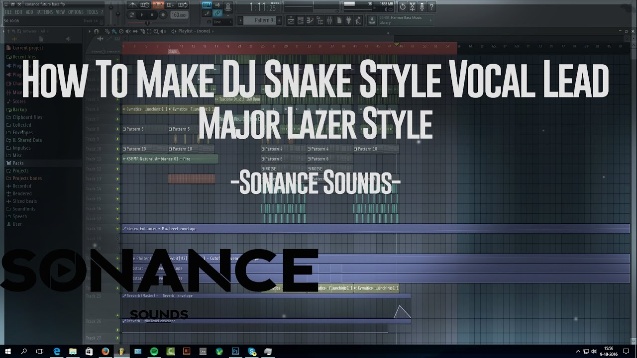 dj snake vocal lead tutorial major lazer vocal chop free flp youtube. Black Bedroom Furniture Sets. Home Design Ideas