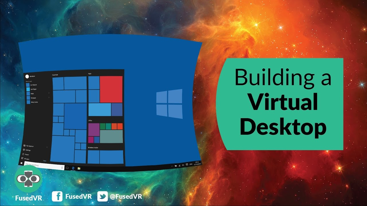 Building A Virtual Desktop From Scratch Youtube