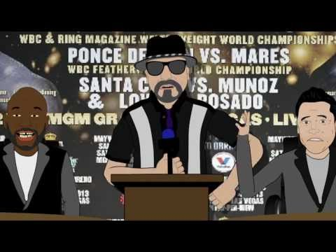 Robert Guerrero's Dad Floyd Mayweather Woman Beater Parody (LT Animated Cartoon)
