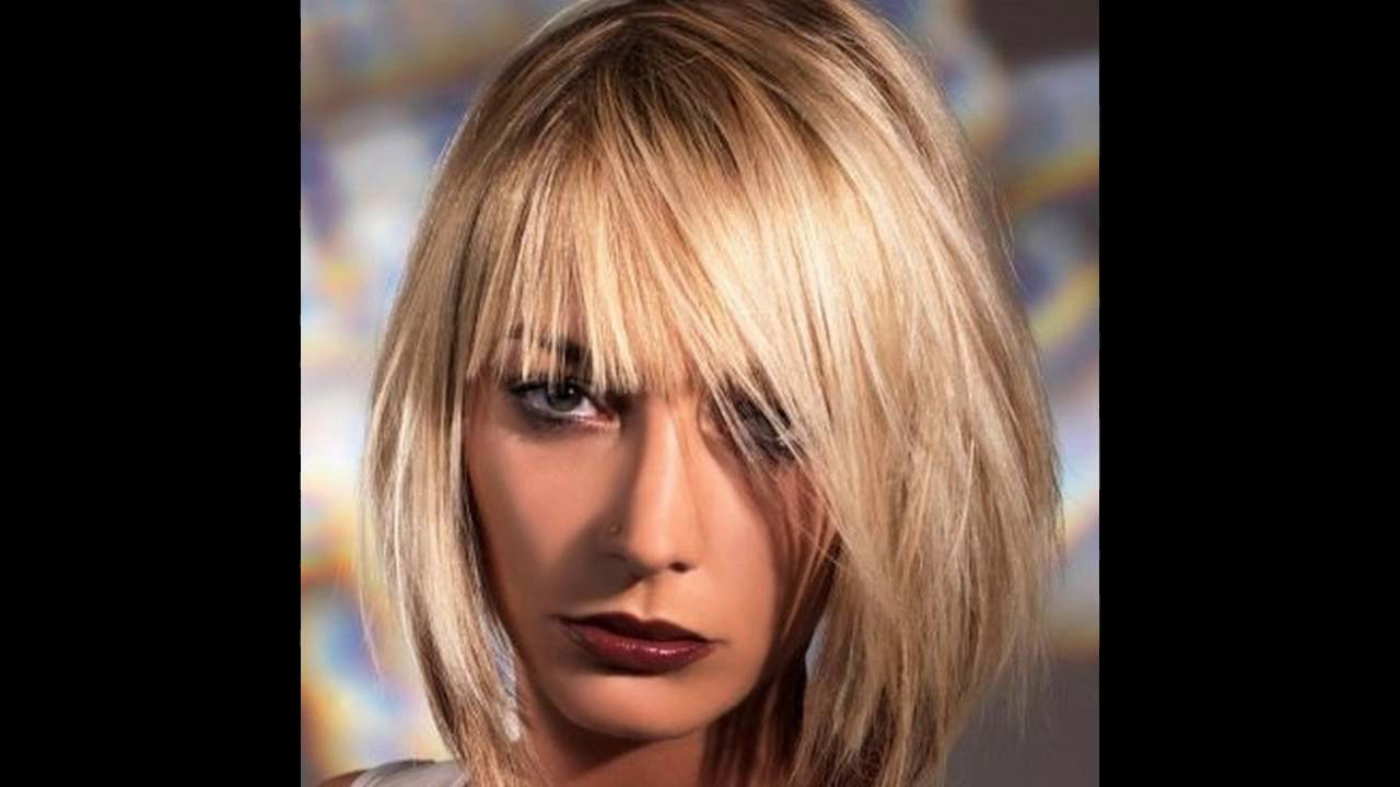 Aktuelle Neue Frisurentrends Frisuren Damen Mittellang YouTube