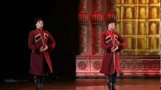 "The Russian National Dance Show ""Kostroma"" - Great Cossack Dance"