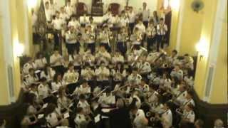 """""""XV Concierto Marinero en Honor a Ntra. Sra. la Virgen del Carmen de El Palo"""", año 2012."""