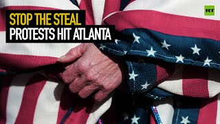 Stop The Steal protests hit Atlanta