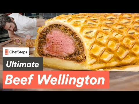 Make the Tastiest Pastry-Wrapped Beef Tenderloin Roast: ChefSteps Beef Wellington