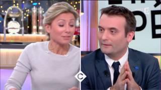 Florian Philippot : Le FN aux portes de l'Elysée ? C à vous - 06/03/2017