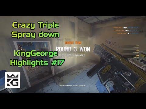 Crazy Triple Spraydown | KingGeorge Highlights #17