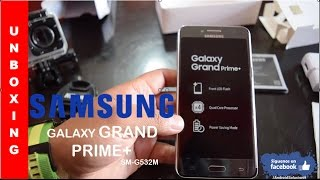 Samsung Galaxy Grand Prime+ (PLUS) Unboxing Primeras Impresiones