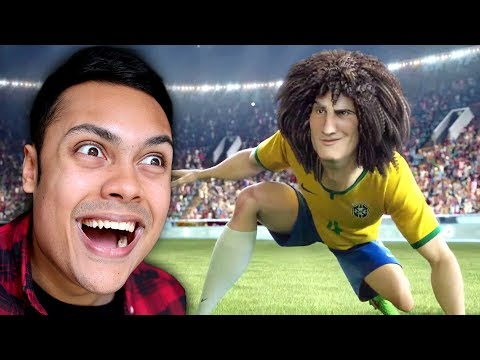 REACTING TO WORLD CUP FOOTBALL ANIMATIONS
