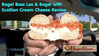 Bagel Boss Lox & Bagel With Scallion Cream Cheese Review #111