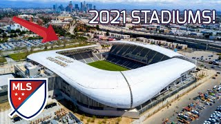 MLS Stadiums 2021