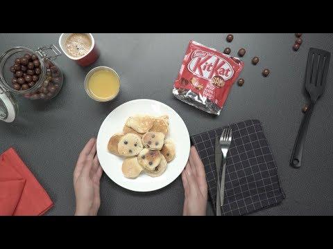 recette-facile-pancakes-au-chocolat-kitkat---recette-petit-déjeuner-ou-brunch---croquons-la-vie