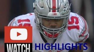 Ezekiel Elliott & J.T. Barrett highlights Ohio State vs Michigan 2015