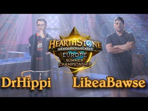 DrHippi vs LikeaBawse - HCT 2016 Europe Summer Championship: Quarterfinal