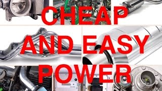 8 Cheap Modifications to Make Your Car Faster!