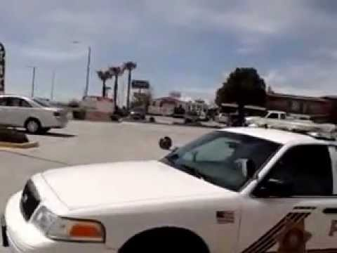 VICTORVILLE POLICE treats victim