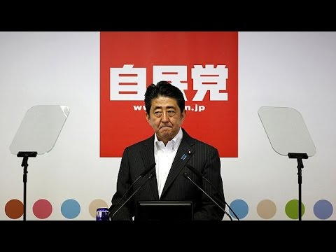 Japan's Shinzo Abe's landslide election win paves way for constitution change