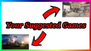 Playing Your Suggested Games | Roblox
