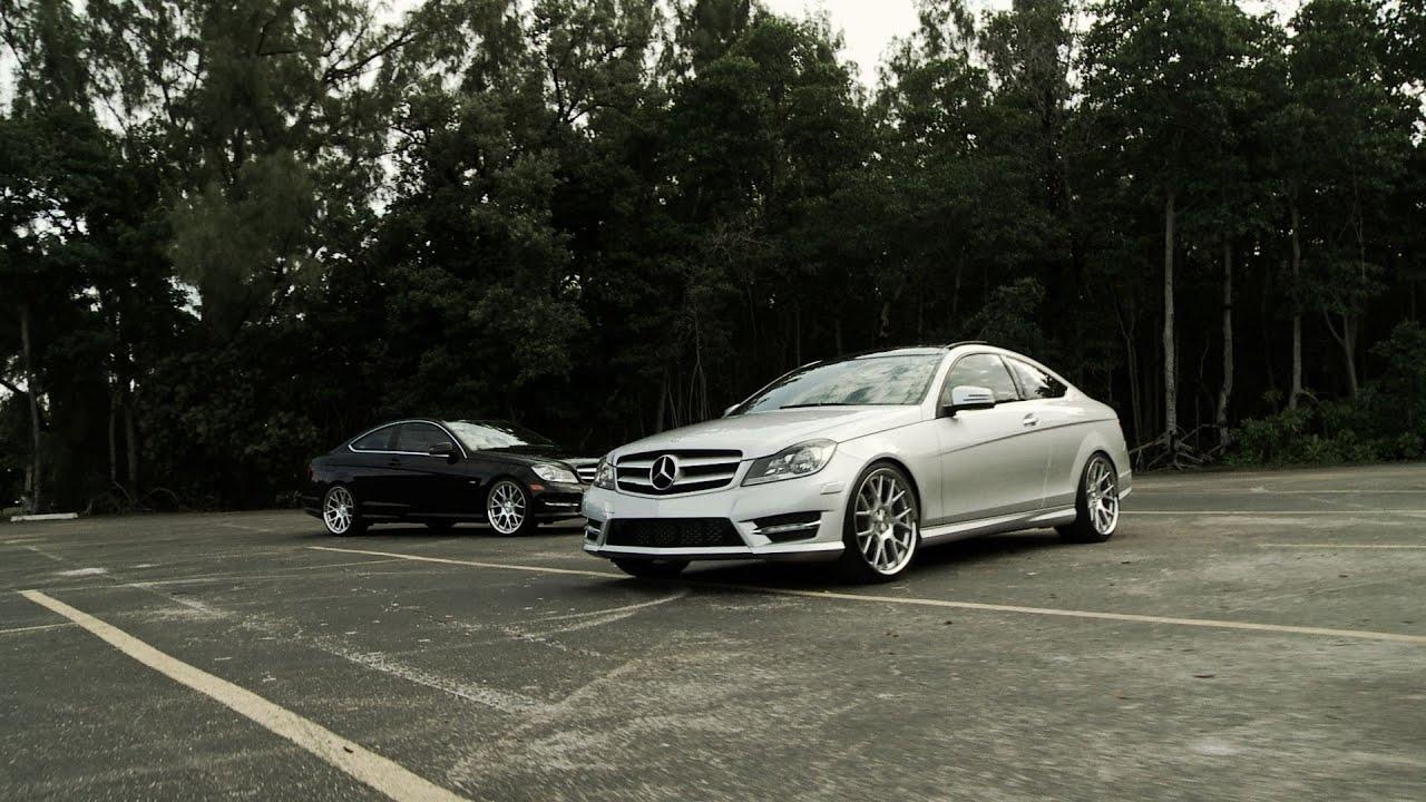 Mercedes Benz C Class C250 Amp C350 Coupes On 20 Quot Vossen Vvs