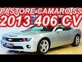 PASTORE Chevrolet Camaro SS 2013 aro 20 AT6 RWD 6.2 V8 406 cv 56,7 mkgf 250 kmh 0-100 kmh 4,8 s