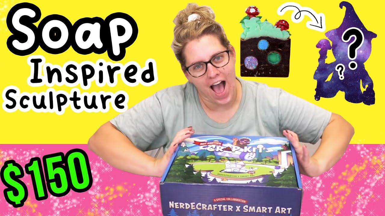 I Bought the $150 NerdECrafter Kit + Making A Soap-Inspired Sculpture   Royalty Soaps