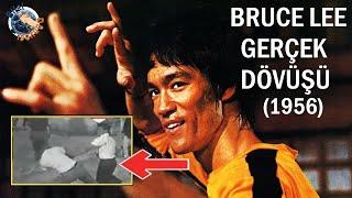 Bruce Lee'nin 1956'daki Kavga videosu  Türkçe altyazılı