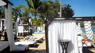 the vip and cabana area at lifestyles resort spa dominican feb 2011