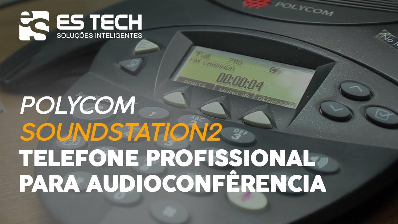 telefone para audioconfer ncia polycom soundstation 2 em portugu s rh youtube com polycom soundstation 2w manual español