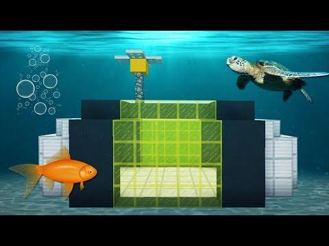 Minecraft Impossível #9: CONHEÇAM MINHA NOVA CASA DEBAIXO DÁGUA!